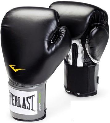 Everlast Pro Style Training Boxing Gloves (M, Black)