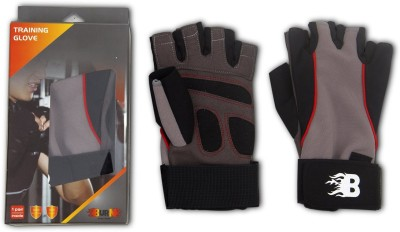 Burn Training Gym & Fitness Gloves (M, Multicolor)