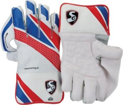 SG Super Club Wicket Keeping Gloves (Men, Multicolor)