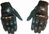 Mad Biker Riding Gloves (XL, Black)