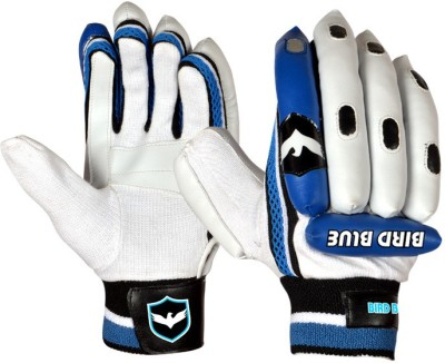 Birdblue We Power Batting Gloves (Men, White, Blue)