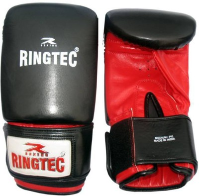 Ringtec RS-302-03 Boxing Gloves (M, Black)