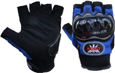 Pro Biker 3810 Cycling Gloves (XL, Blue)