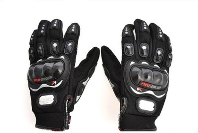 Pro Biker Upbeat Riding Gloves (XL, Black)