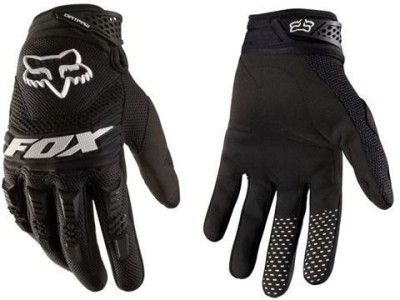 Fox Dirtpaw Cycling Gloves (XL, Black, White)