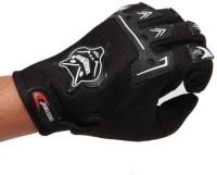Knighthood KnightHood Full Finger Riding Gloves (XL, Black)