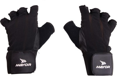 Mayor Colombia Gym & Fitness Gloves (M, Black)