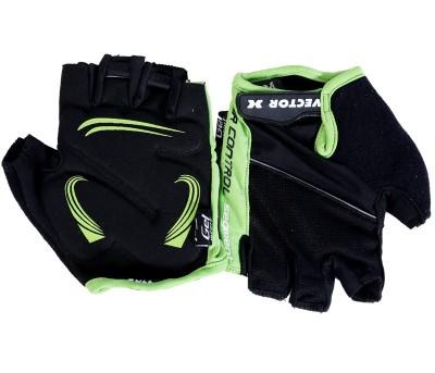 Vector X VX 590 Gym & Fitness Gloves (M, Green, Black)