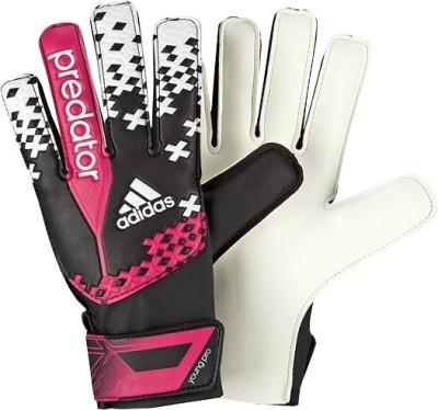 Adidas Pred Young Pro Goalkeeping Gloves (Size-10, Orange, Blue)