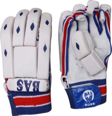 BAS Vampire Boss Batting Gloves (L, White, Blue)