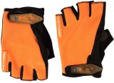 BikeStuff BGl16 Riding Gloves (XL, Orang...