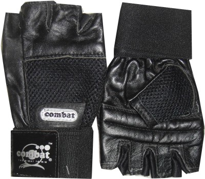 Combat Street Fighter Gym & Fitness Gloves (Men, Black)