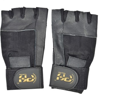 Personal Health AI- Workout Gym & Fitness Gloves (M, Black)