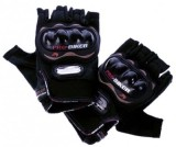 Pro Biker Biker Riding Gloves (XL, Black...