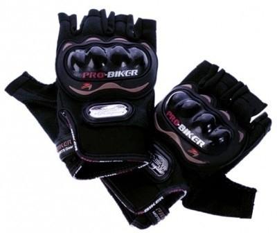 Pro Biker Biker Riding Gloves (XL, Black)