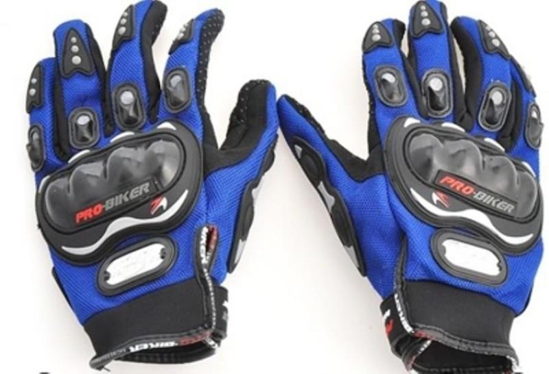 Pro Biker Probiker Full Finger Riding Gloves (XL, Blue)