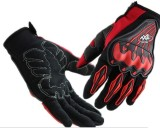 Accessoreez AXE Riding Gloves (L, Red)