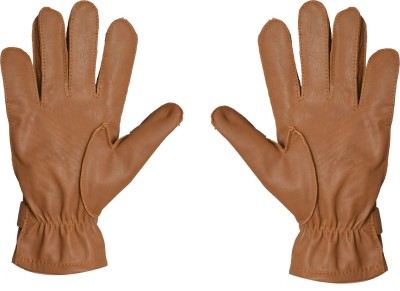 Fitness Rehan's Driving Gloves (L, Brown)