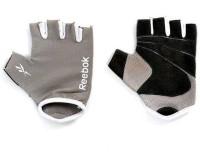 Reebok Elements Gym & Fitness Gloves (Free Size, Grey, Black)