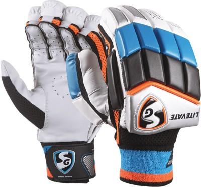 SG Litevate Batting Gloves (L, Multicolor)