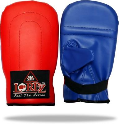 Lordz Lordz straight mitts Boxing Gloves (L, Red, Blue)