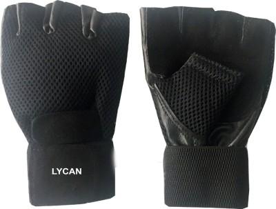 Lycan Fire Gym & Fitness Gloves (L, Black)