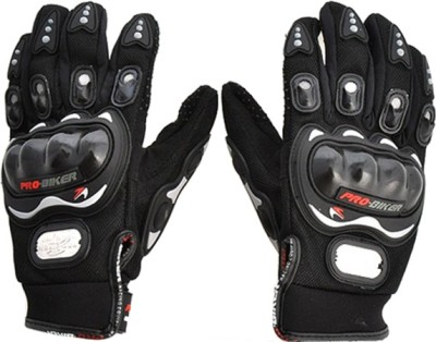 Pro Biker Racing, Riding, Biking Driving Gloves (XL, Black)