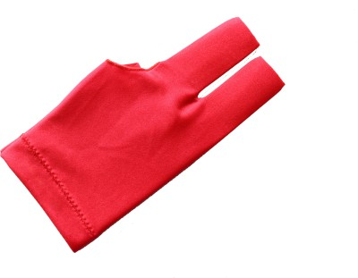 Billiedge Nail Cut Gym & Fitness Gloves (Free Size, Red)