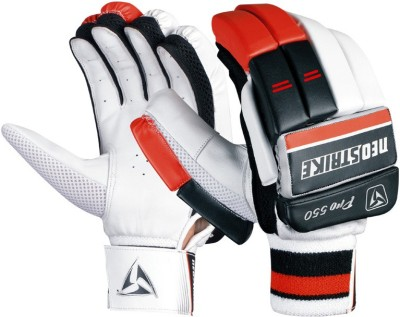 Neo strike Pro550youth Batting Gloves (Youth, Black, Red)