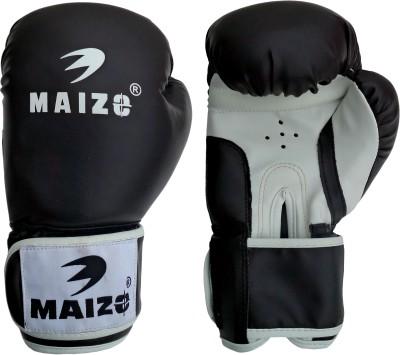 Maizo Striker Training Gloves 10 Oz Boxing Gloves (S, Black, White)