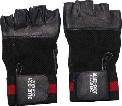 Blue Dot Classic Gym & Fitness Gloves (Free Size, Multicolor)