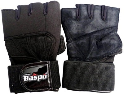 Baspo BSPGYM Gym & Fitness Gloves (Youth, Black)