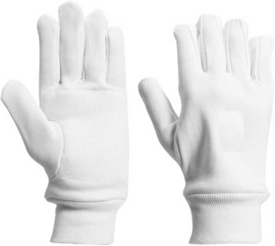 BLT Club Batting Gloves (Free Size, White)