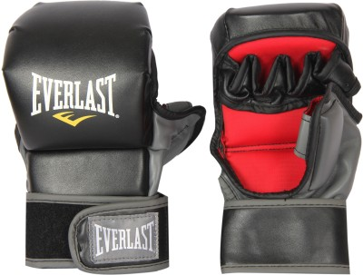Everlast Striking Boxing Gloves (L, Black)