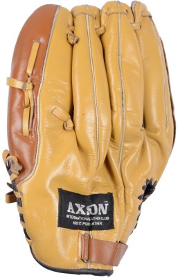 AXSON Catching Baseball Gloves (Free Size, Brown)
