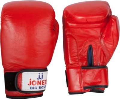 JJ JONEX VERY HIGH QUALITY Big Boss Boxing Gloves (S, Red)