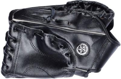 AXSON Catching Baseball Gloves (Free Size, Black)