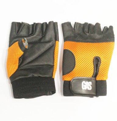 GAS Macho Cycling Gloves (Free Size, Orange)