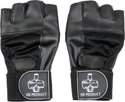 GB BEST Beginner Gym & Fitness Gloves (Free Size, Black)