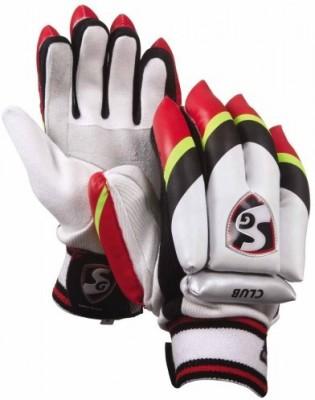 SG CLUB_and_B Batting Gloves (Boys, Multicolor)