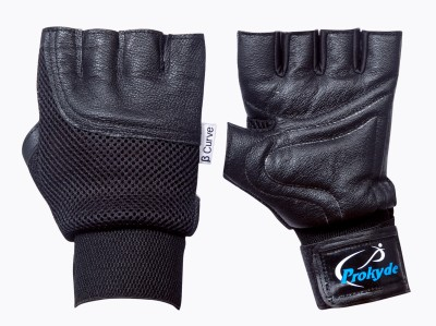 Prokyde Beta Curve Gym & Fitness Gloves (M, Black)