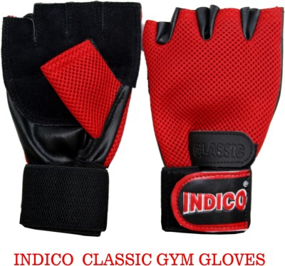 Indico Keeper Classic Gym & Fitness Gloves (Men, Multicolor)