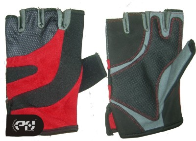 Personal Health TRUE Gym & Fitness Gloves (L, Red)