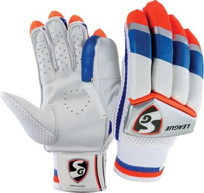 SG LEAGUE Batting Gloves (Men, Multicolor)