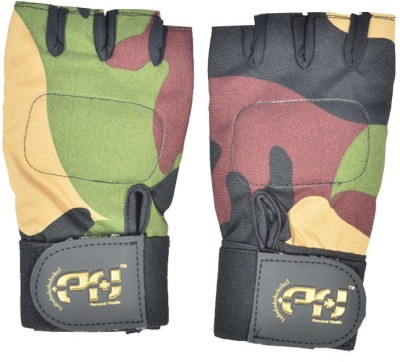 Personal Health AI- Shield Gym & Fitness Gloves (L, Multicolor)
