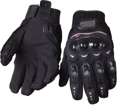 Pro Biker Riding Cycling Gloves (XL, Black)