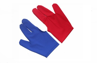 Billiedge Combo of Red & Blue Gym & Fitness Gloves (Free Size, Red, Blue)