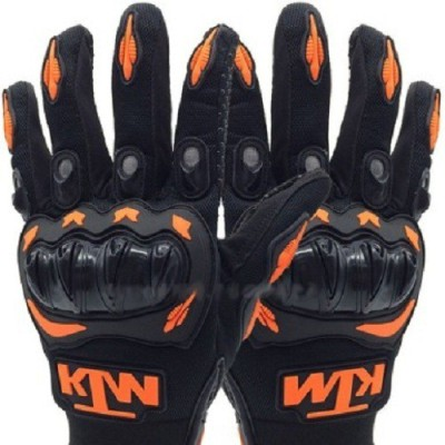 Casttle KTM MC08 Driving Gloves (XL, Black, Orange)