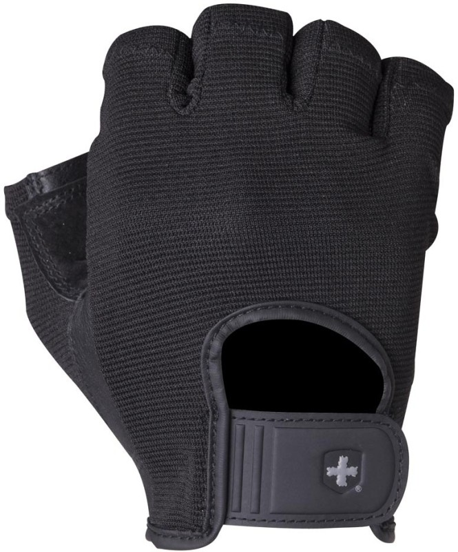 Harbinger 155 Power Gym & Fitness Gloves (L, Black)