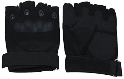 AllExtreme Riders Designed and Developed as Per European Standards Riding Gloves (L, Black)